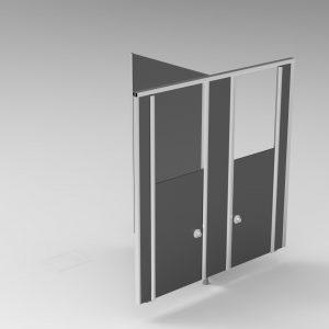 Wandsystemen | Cabines | LB Junior hoog