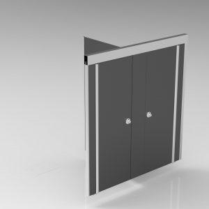 Wandsystemen | Cabines | VV Zwevend